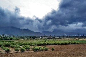 Monsoon Rain Clouds