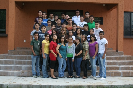 2009 Hope Program students, including the girls that live in the Garcia's home through the program